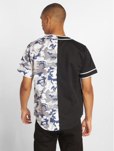 Sixth June Hombres Camisa Bicoloured in negro