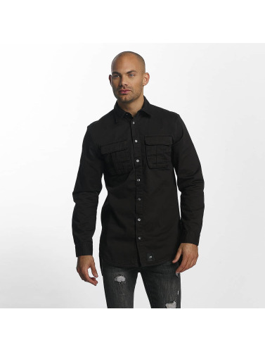 Sixth June Hombres Camisa Classic Oversize in negro