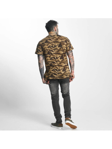 Sixth June Hombres Camiseta Classic Oversize in camuflaje
