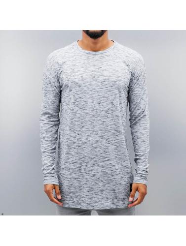 Sixth June Hombres Camiseta de manga larga Ripped in blanco
