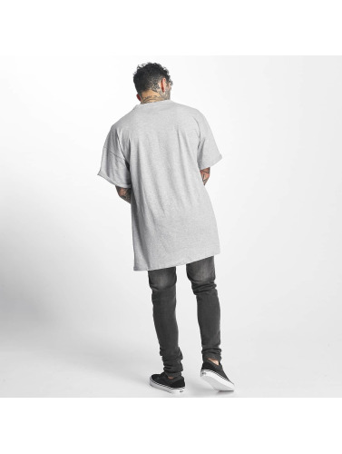 Sixth June Hombres Camiseta DropShoulder Basic in gris