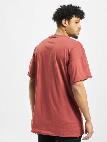 Sixth June Hombres Camiseta DropShoulder in rojo