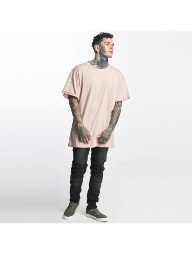 Sixth June Hombres Camiseta DropShoulder in rosa