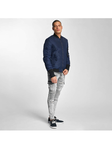 Sixth June Hombres Cazadora bomber Padded in azul