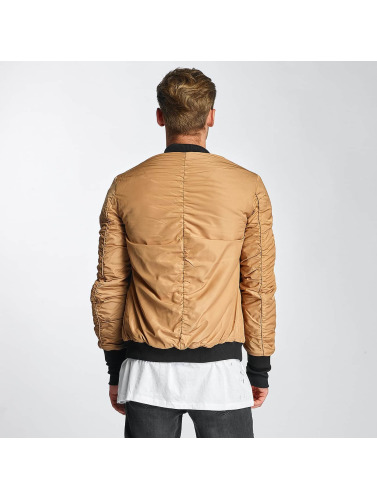 Sixth June Hombres Cazadora bomber Padded in beis