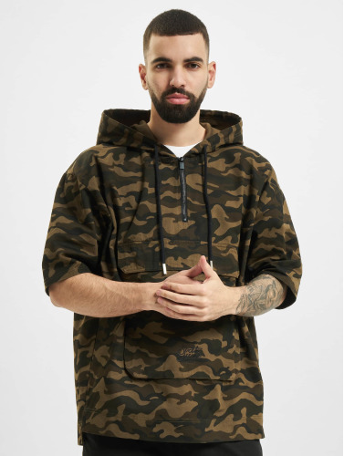 Sixth June Hombres Chaqueta de entretiempo Little Boxy in camuflaje