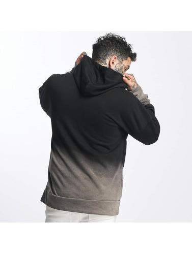 Sixth June Herren Hoody Oversize Blach Washed Logo in schwarz