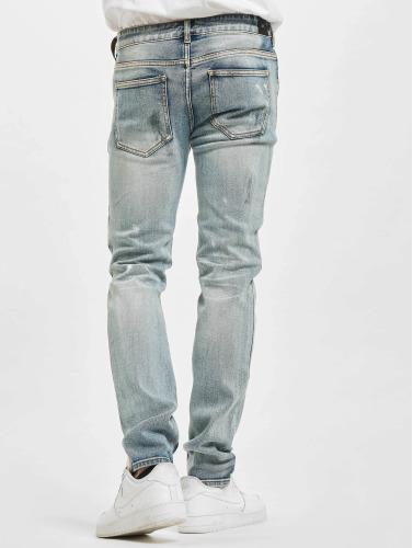 Sixth June Hombres Jeans ajustado Destroyed Washed in azul