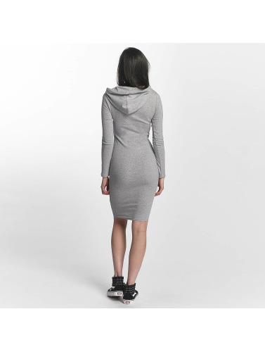 Sixth June Damen Kleid Sweat Winter in grau