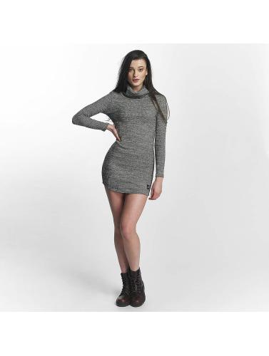 Sixth June Damen Kleid Knit Winter in grau