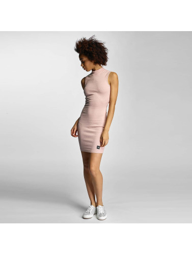 Sixth June Damen Kleid Ripped in rosa
