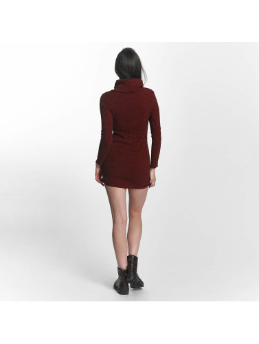 Sixth June Damen Kleid Knit Winter in rot
