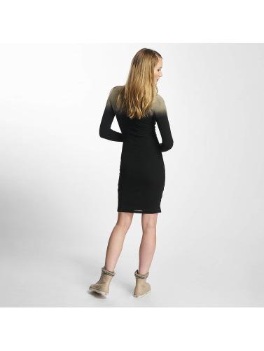 Sixth June Damen Kleid Destroyed Tight in schwarz