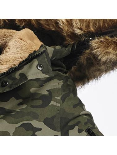 Sixth June Herren Mantel Ultra Oversized in camouflage