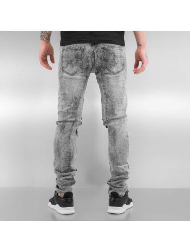 Sixth June Herren Skinny Jeans Destroyed KneeCut in grau Günstig Kaufen 2018 Freies Verschiffen Heißen Verkauf Rabattpreise I4MXXHkxn
