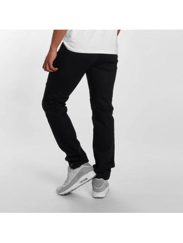 Sixth June Herren Skinny Jeans Branko in schwarz