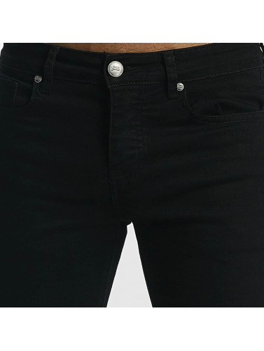 Sixth June Herren Skinny Jeans Skinny Destroyed in schwarz Billig Verkauf Amazon 6so5iMn8F