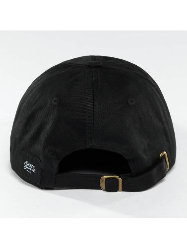 Sixth June Snapback Cap Logo in schwarz