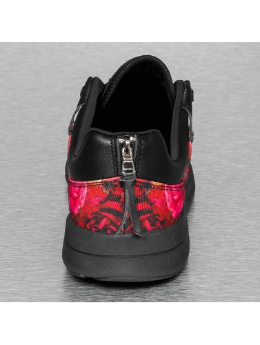 Sixth June Herren Sneaker Flower II in schwarz
