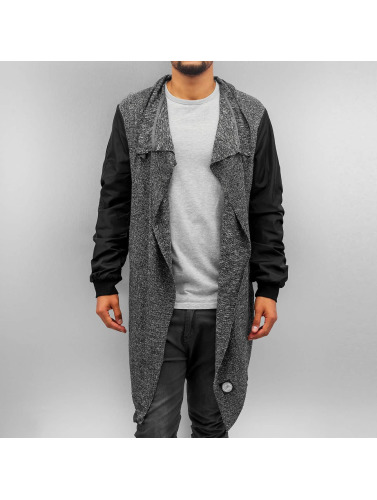 Sixth June Herren Strickjacke Jacket in grau