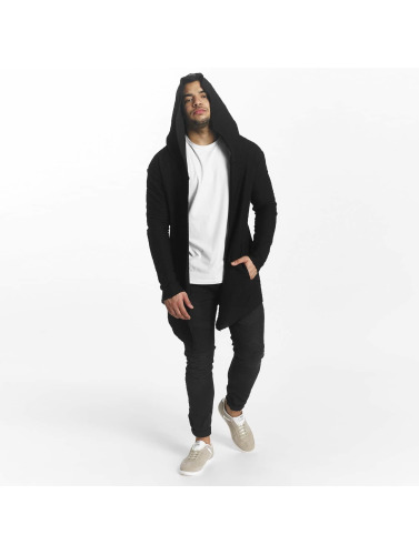 Sixth June Herren Strickjacke With Hood in schwarz