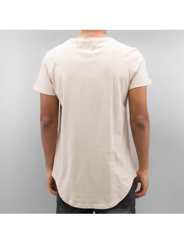 Sixth June Herren T-Shirt Curved Gothic in beige