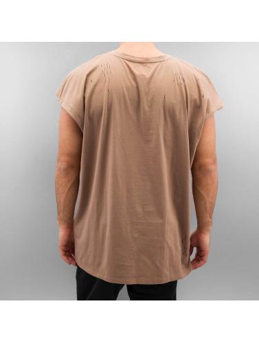Sixième Juin Herren T-shirt Détruit Le Muscle Beige