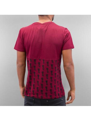 Sixth June Herren T-Shirt Paris 75 in rot