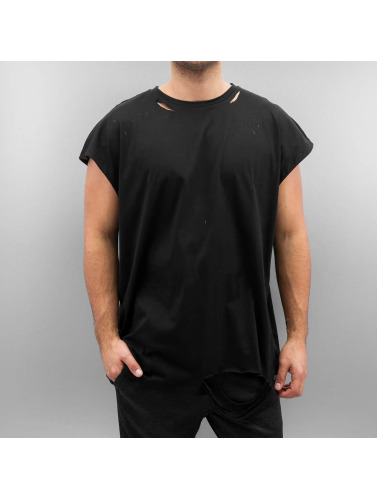Sixth June Herren T-Shirt Destroyed Muscle in schwarz