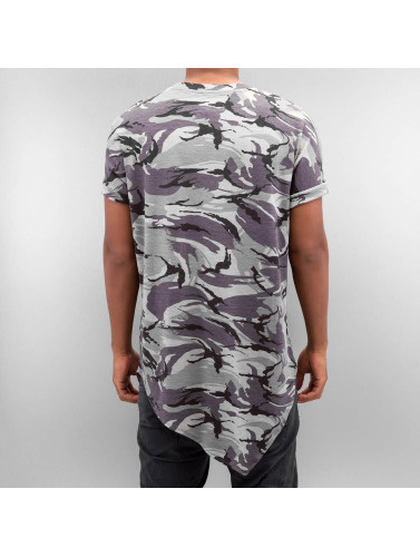 Sixth June Herren Tall Tees Asymmetric in camouflage