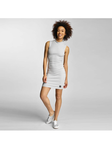 Sixth June Mujeres Vestido Ripped in gris