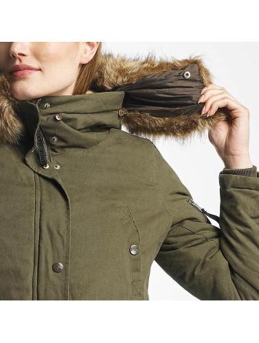 Sixth June Damen Winterjacke Oversize in beige