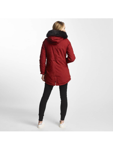 Sixth June Damen Winterjacke Oversize in rot