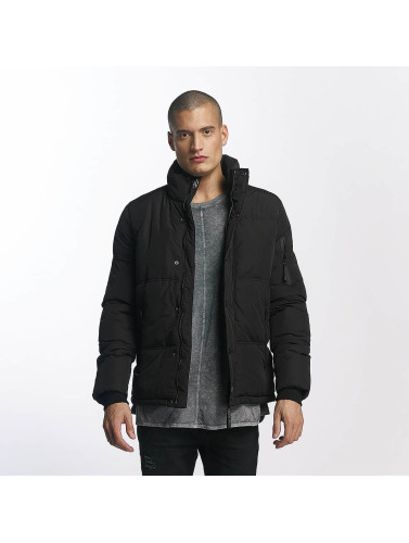 Sixth June Herren Winterjacke Classic Fit Down in schwarz