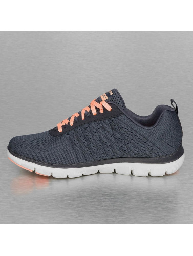 Skechers Damen Sneaker Break Free Flex Appeal 2.0 in grau