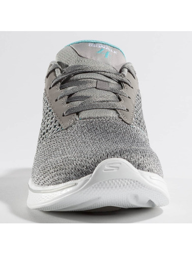 Skechers Damen Sneaker Go Walk in grau