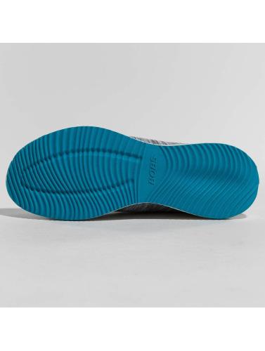 Skechers Mujeres Zapatillas de deporte Bobs Squad Sizzle in gris