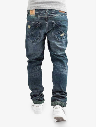 Sky Rebel Herren Straight Fit Jeans <small>    Sky Rebel   </small>   <br />    in blau