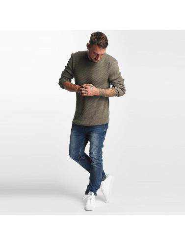 Sky Rebel Herren Straight Fit Jeans Elay Jogger in blau