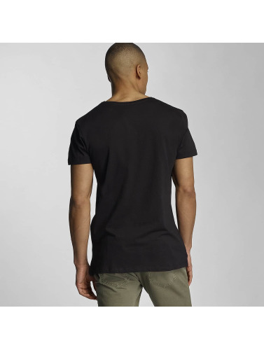 Sky Rebel Herren T-Shirt Davy in schwarz
