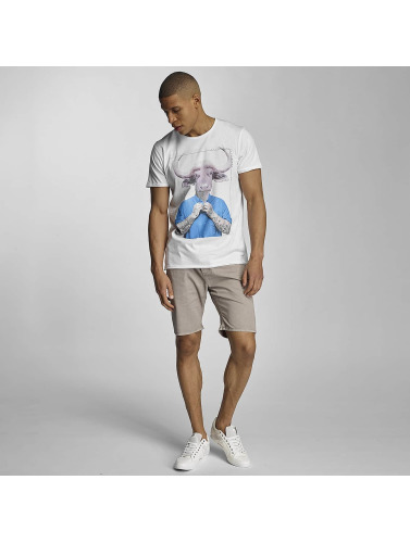 Sky Rebel Herren T-Shirt Till in weiß