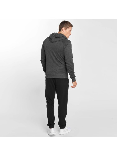 Smilodox Herren Hoody Slim Fit Jersey in grau