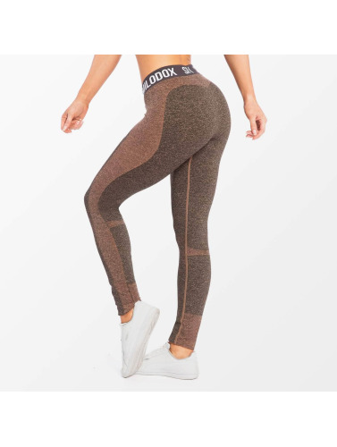 Smilodox Damen Legging Autumn in grau