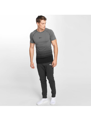Smilodox Herren T-Shirt Process in grau