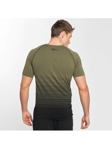 Smilodox Herren T-Shirt Process in olive