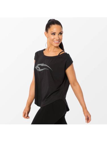 Smilodox Damen T-Shirt Loose in schwarz Günstig Kaufen Browse Rabatt Footaction Er0EGFi