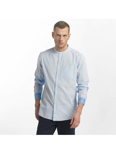 Solid Hombres Camisa Marcus in azul
