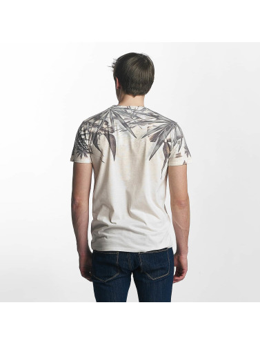 Solid Hombres Camiseta Manny in beis