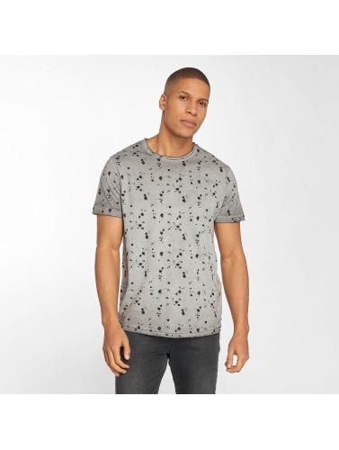 Solid Hombres Camiseta Newton in gris
