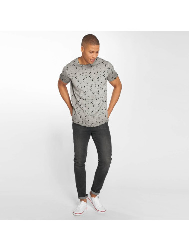 gris Camiseta Hombres in Solid Newton OHTYnwq